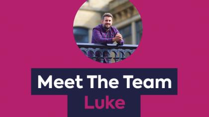 Meet The Team - Luke