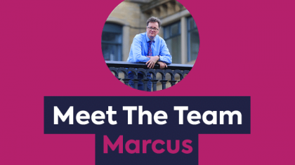 Meet The Team - Marcus