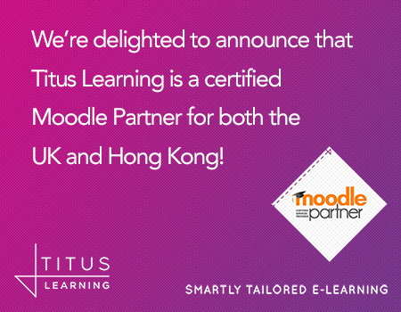 Titus Learning is now a certified Moodle Partner!