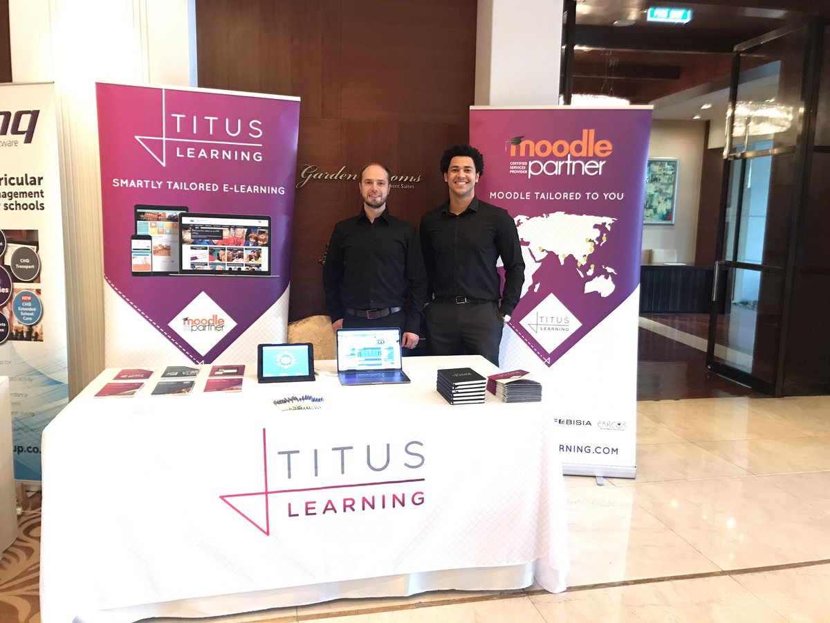 Titus Learning at the 37th COBIS Annual Conference