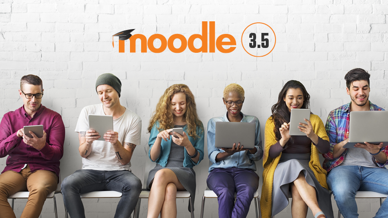 Moodle 3.5 – what's new?