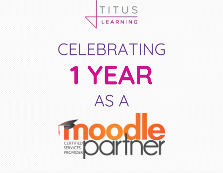 One year as a Moodle Partner!