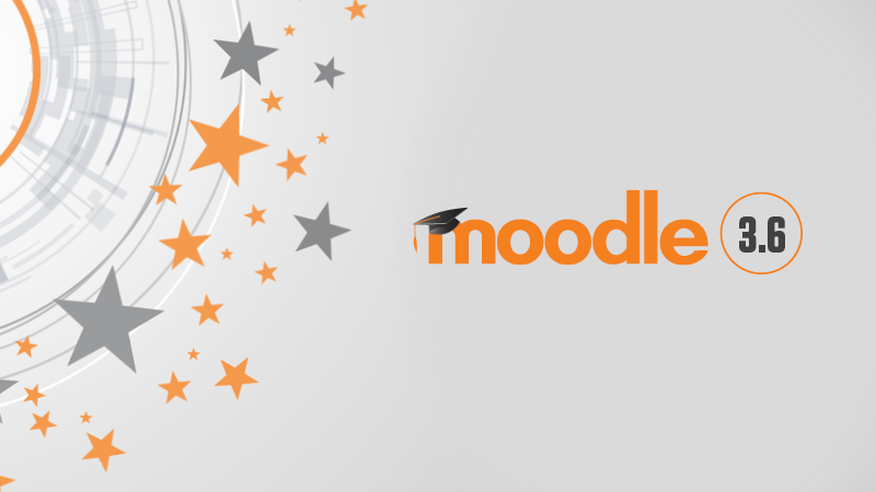 Moodle 3.6 is here – what's new?