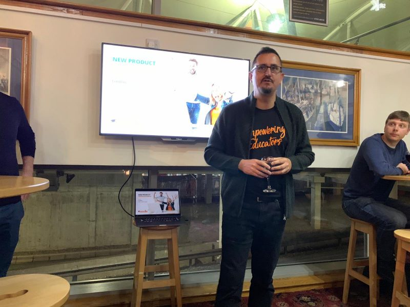Moodle founder Martin Dougiamas at the Moodle Workplace launch