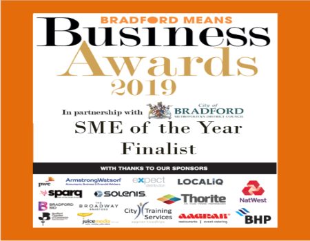 Titus Learning shortlisted for local business award