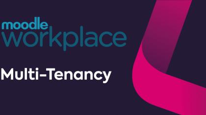 Moodle Workplace tenancy