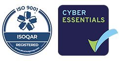 ISO 9001 and Cyber Essentials accredited