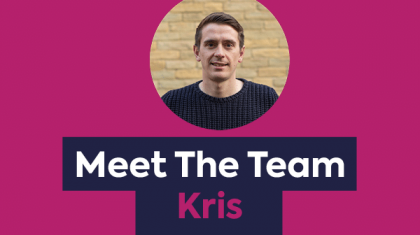 Meet The Team - Kris