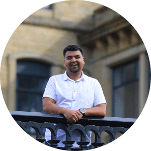 Majid Hussein - Head of Support and Delivery