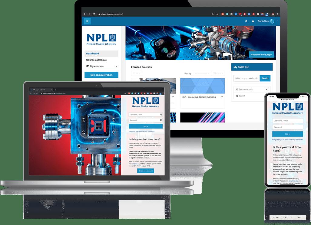 NPL - Titus Moodle Client Mockup
