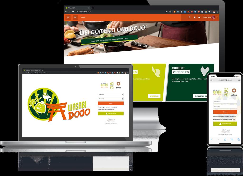 Wasabi Moodle Platform - Titus Client