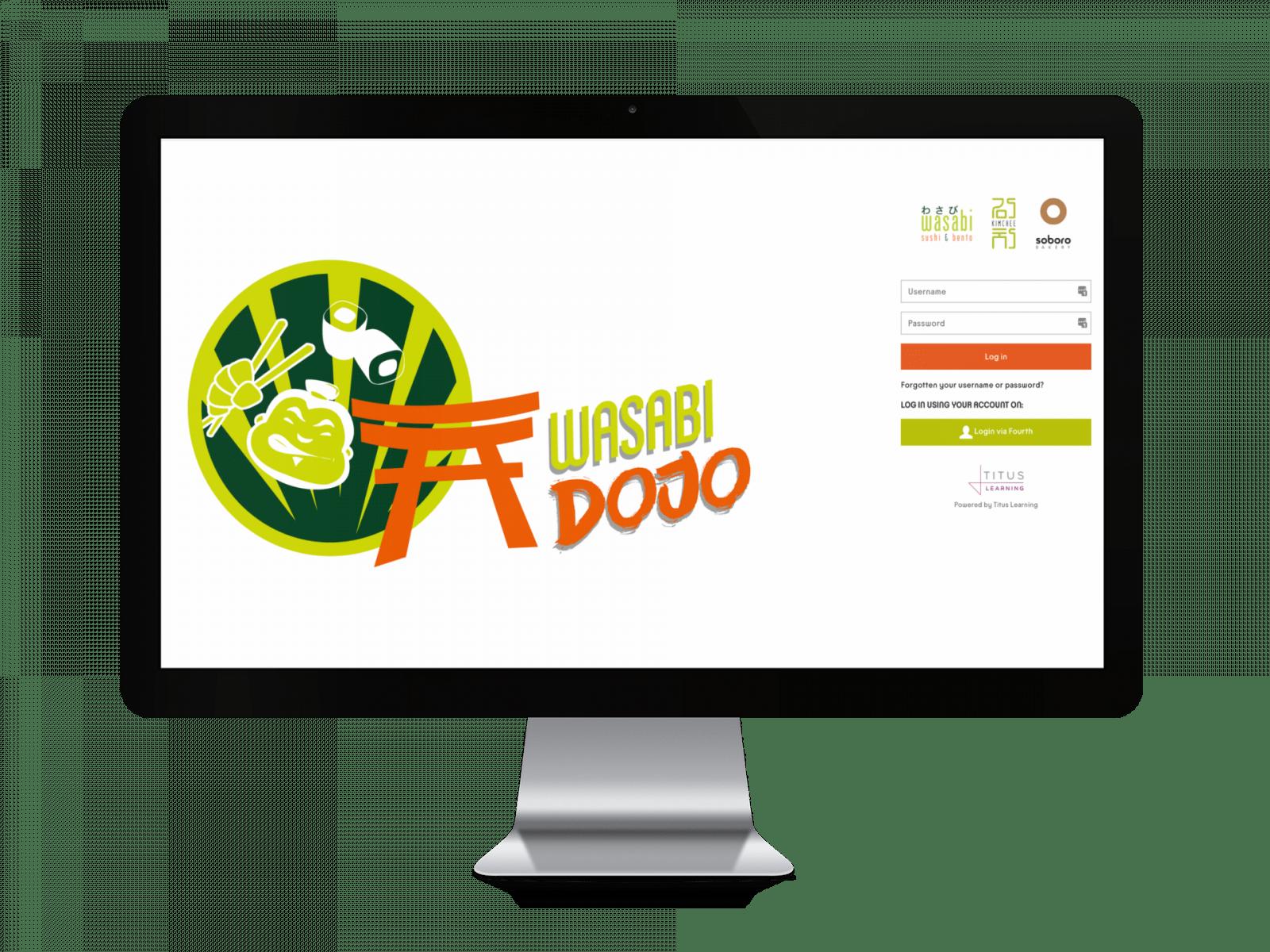 Wasabi Titus Moodle Client Mockup