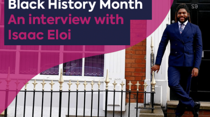 Black History Month interview featured image