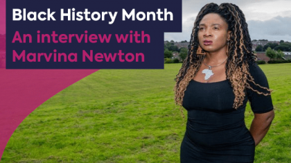 Marvina Newton Graphic for interview