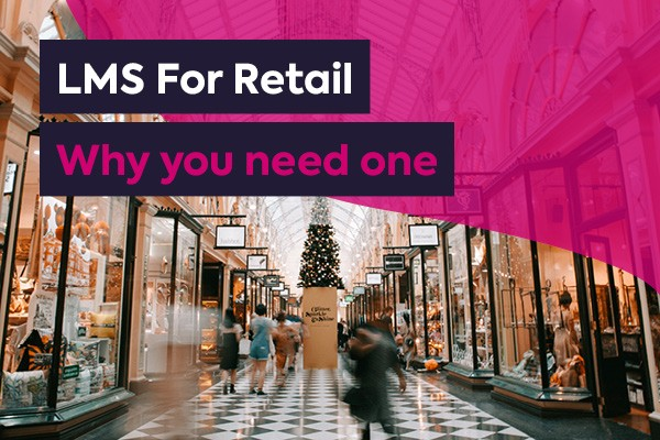 LMS for retail featured image