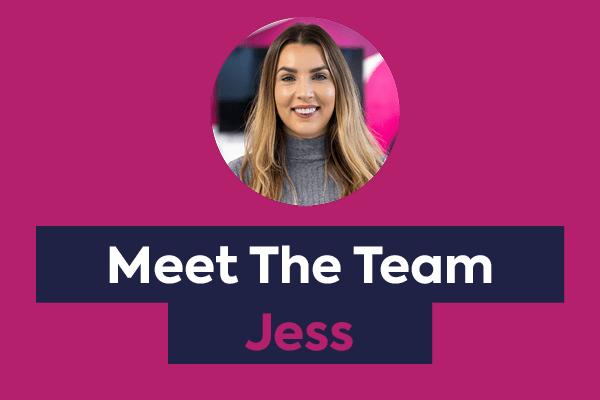 Meet the team - Jess