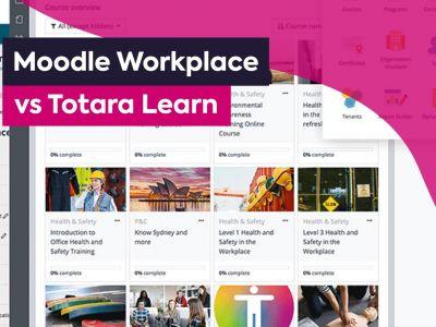 Moodle Workplace vs Totara Featured image