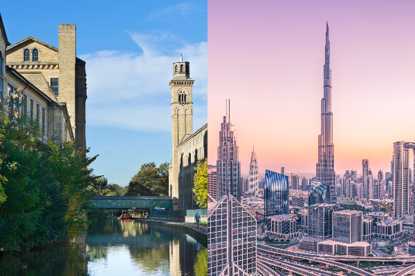 Saltaire and Dubai